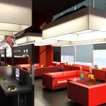 дизайн интерьера кафе 1