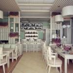 дизайн интерьера кафе 2
