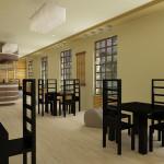 дизайн интерьера кафе 3