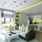 дизайн трехкомнатной квартиры фото 1