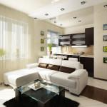 дизайн квартиры студии фото 1