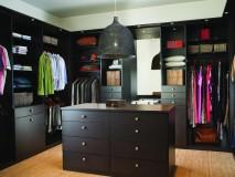 дизайн интерьера гардеробной комнаты