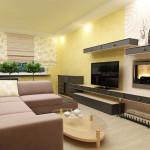 дизайн гостиной с камином фото 3