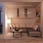 перепланировка однокомнатной квартиры 4