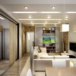 перепланировка однокомнатной квартиры 5
