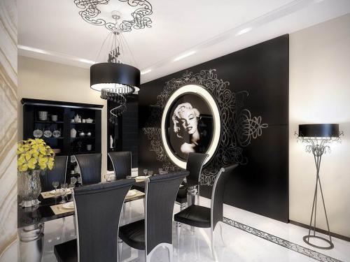 marilyn-monroe-vintage-apartment-dining-room