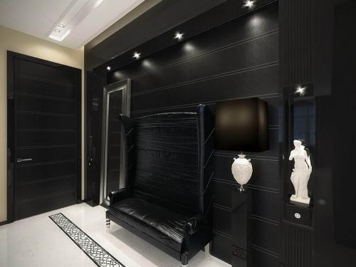vintage-apartment-black-hall-with-white-touches