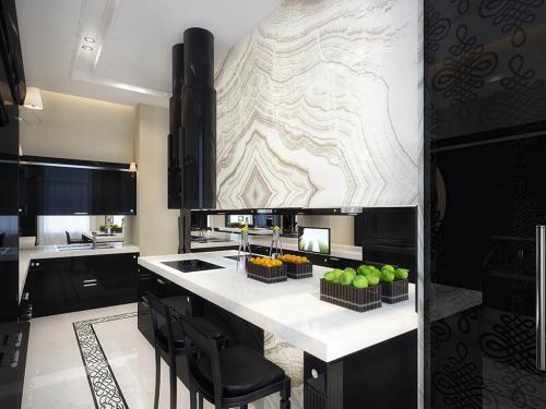 vintage-apartment-white-and-black-kitchen