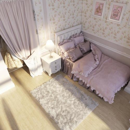 Комната девочки 2