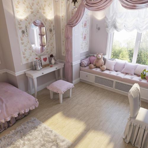 Комната девочки 3