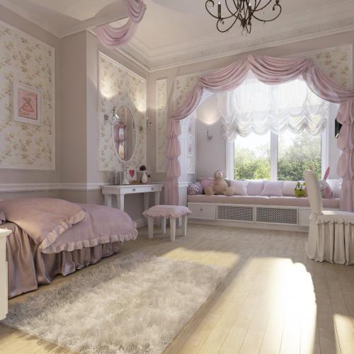 Комната девочки 5