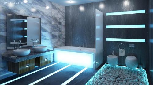 stilnyj-dekor-koridora-v-stile-haj-tek-foto